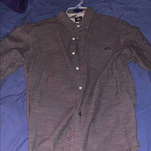 Volcom Long Sleeve Button-up